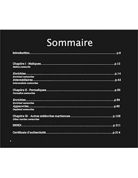 """Livre Photographique """"Météorites Martiennes de la Collection Classen"""""""