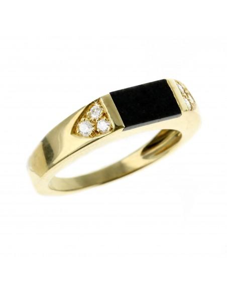 Bague or diamant Dhofar