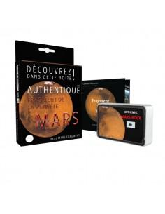 Véritable fragment de la planète Mars, taille L