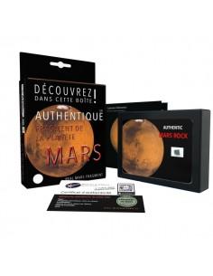 Véritable fragment de la planète Mars, taille XL