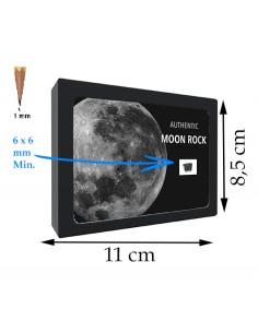 Fragment de la Lune, de taille XL, au bout des doigts