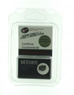 Bague ajustable en météorite (grande taille) NWA 869