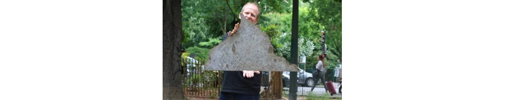 La météorite de Cape York est une sidérite, tombée au Groenland.